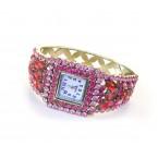 Ružové hodinky