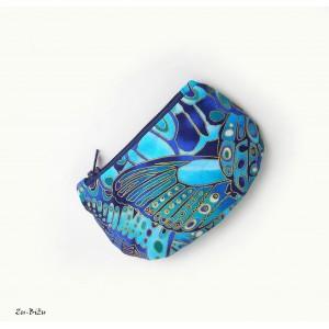 Modrá peňaženka