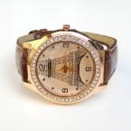 Hnedé hodinky