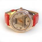 Červené hodinky