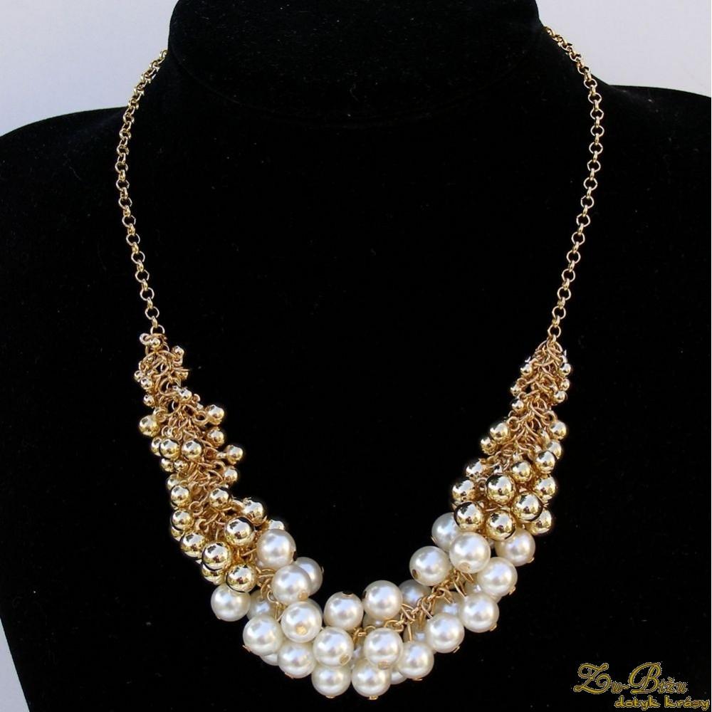 2d661d3e5 Náhrdelník - Zu-Bižu (Dotyk krásy) Svadobná, Bižutéria, šperky ...