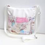 Biela kabelka Paríž
